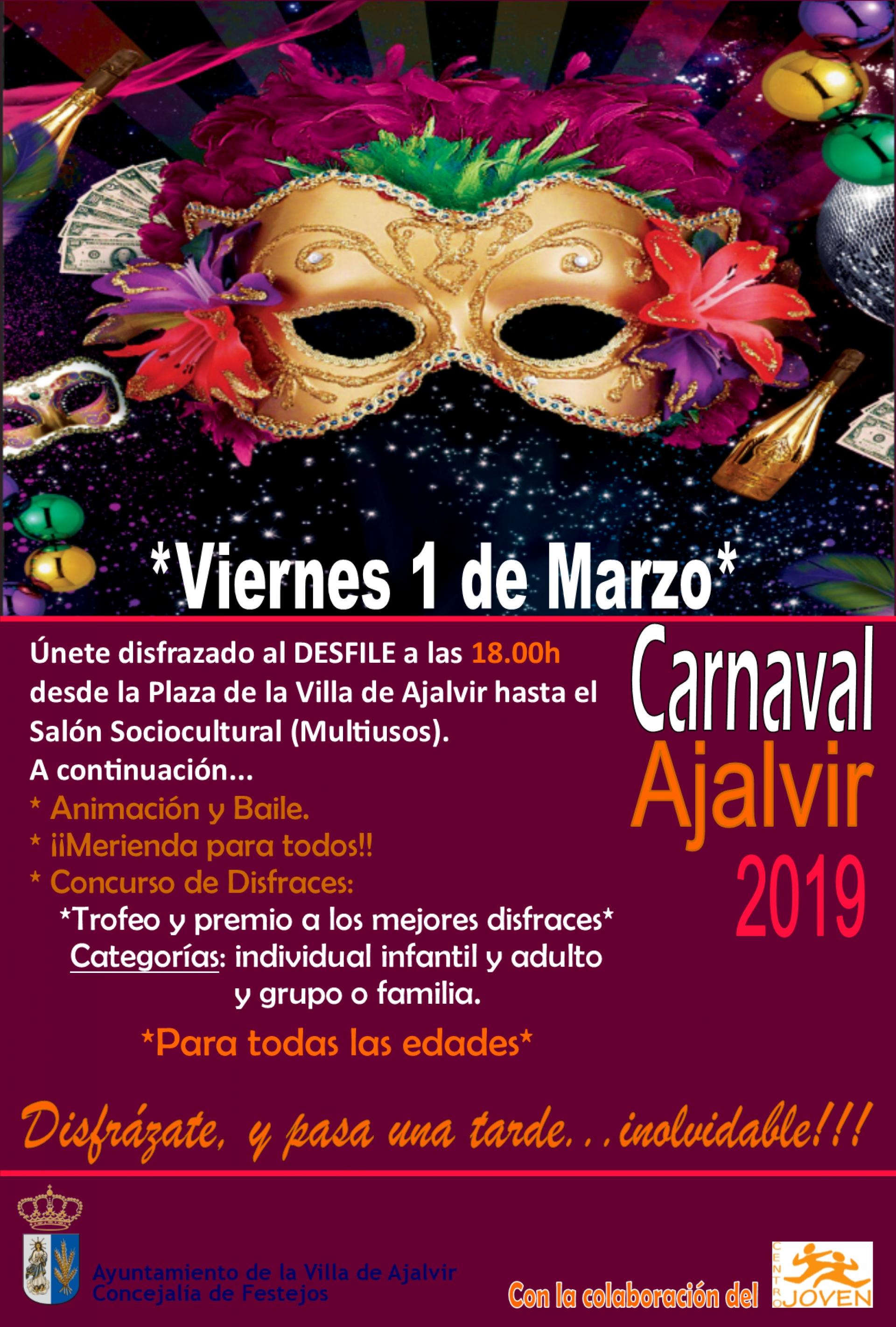 Fiesta De Carnaval En Ajalvir Viernes 1 De Marzo