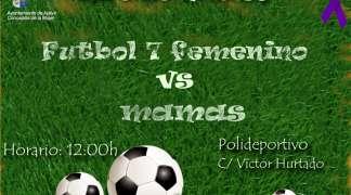 Fútbol 7 femenino Vs Mamás Día 8