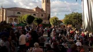 Gran ambiente en la festividad de San Isidro