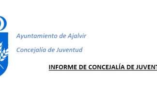 INFORME DE CONCEJALÍA DE JUVENTUD