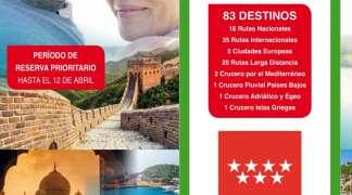 Programa Rutas Culturales 2019 para mayores de 60 años
