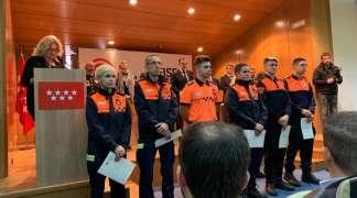 ENTREGA DE DIPLOMAS PROTECCION CIVIL