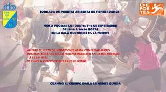 JORNADA DE PUERTAS ABIERTAS DE FITNESS DANCE