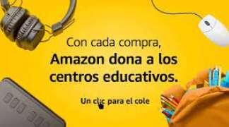 Con Amazon ayudas al cole