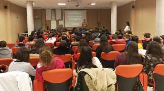 Los alumnos de ESO del CEIPSO San Blas recibieron formación sobre acoso escolar, ciberacoso y redes