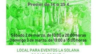 Mercadillo Solidario a beneficio de la Asociación Española Contra el Cáncer. 2 y 3 de Marzo