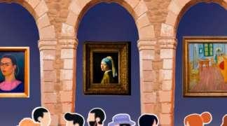 Fin de curso del Taller de Pintura de la Escuela Municipal de Ajalvir