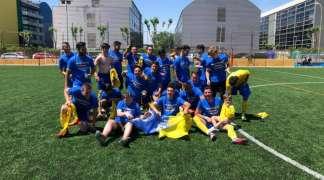 El equipo de fútbol senior del CDM Ajalvir consigue el ascenso a Segunda Regional