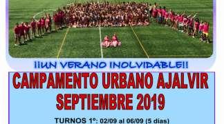 Campamento Urbano Ajalvir - Septiembre 2019