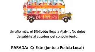 Bibliobús Octubre-Mayo