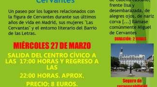 Salida cultural al Barrio de las Letras de Madrid. 27-3-19