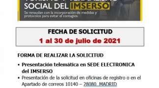 PROGRAMA DE TURISMO Y TERMALISMO SOCIAL DEL IMSERSO