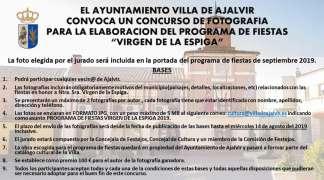 """Concurso de Fotografía para Programa de Fiestas """"Virgen de la Espiga"""""""