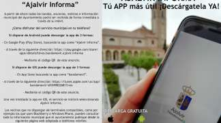 """450 vecinos disfrutan ya de las ventajas y contenidos de la App """"Ajalvir informa"""" en sus móviles y tablets"""
