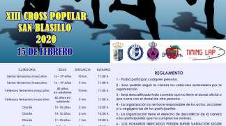 Carrera popular San Blasillo 2020