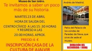 Visita cultural al Museo de San Isidro de Madrid. 23-4-19