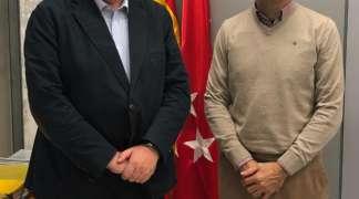REUNIÓN CON EL DIRECTOR GENERAL DE MEDIO AMBIENTE  DE LA COMUNIDAD DE MADRID