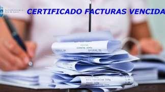 CERTIFICADO FACTURAS VENCIDAS