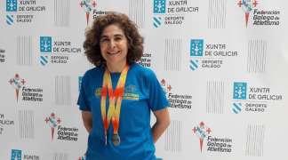 Carmen Aceña de Mesa subcampeona de España de atletismo Master 50