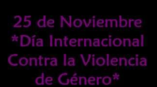 """25 de noviembre día internacional contra la violencia de genero """"CAMPAÑA DE CONCIENCIACIÓN - CUENTA CONMIGO"""""""