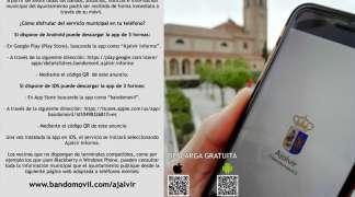 """""""Ajalvir Informa"""", nueva app de servicio público de nuestra villa"""
