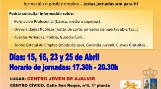 Jornadas de Orientación Educativa y Laboral para estudiantes en el Centro Joven