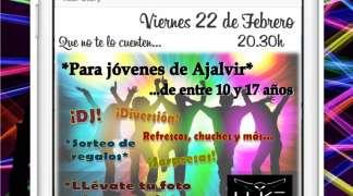 Fiesta light en el Centro Joven. Viernes 22 de Febrero
