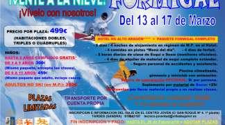 Viaje a la nieve a Formigal del 13 al 17 de Marzo