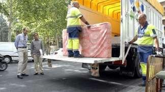 Servicio de recogida domiciliaria gratuita de muebles y enseres
