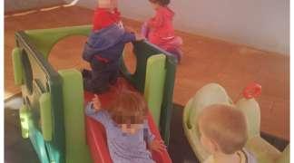 Primeros sentimientos, contacto con niños. E.I La Espiga - Ajalvir
